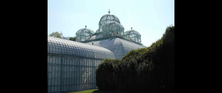 Les serres royales de laeken jardin secret de la belgique for Serres de jardin belgique