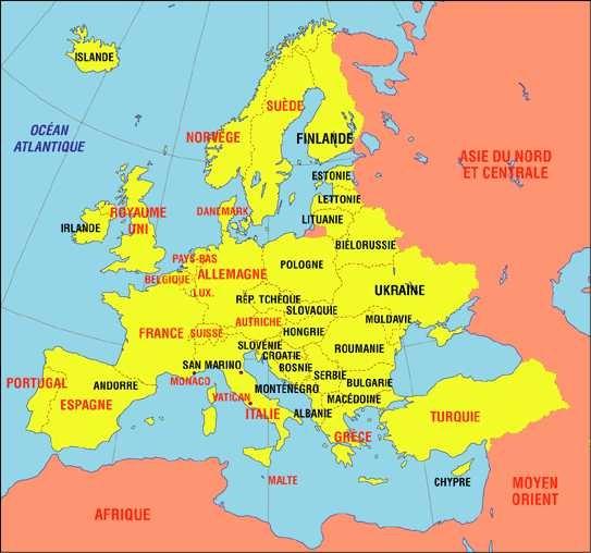 Copenhague carte europe arts et voyages for Recherche hotel sur carte