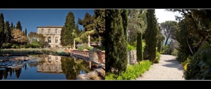 France un jardin historique villeneuve l s avignon le for Entretien jardin villeneuve les avignon